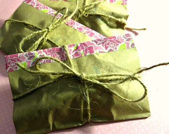 Hand made grab bags