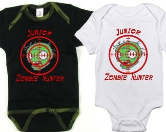 Jr. Zombie Hunter onesie