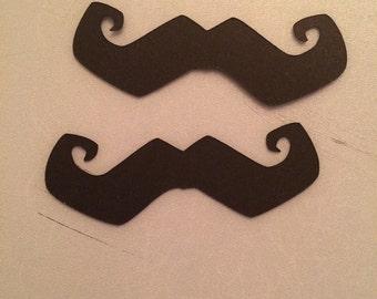 60 piece moustache confetti