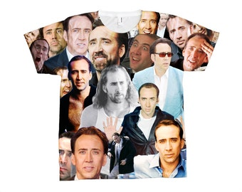 Nicolas Cage - All-Over-Print T-Shirt