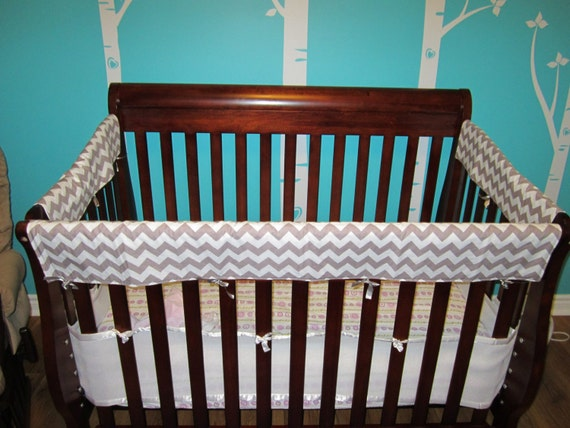 Teething Guards Crib Rail Covers Protectors Front Side 3