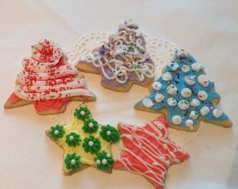 Decorated Sugar or Spritz  Cookies