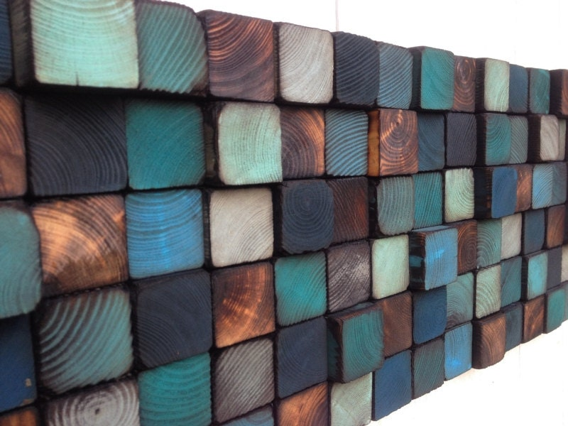 Wood Wall Art Reclaimed Wood Wall Sculpture By WallWooden On Etsy