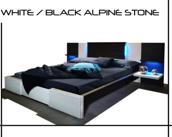 Items Similar To Platform Bed Twin Bed Low Profile Bed