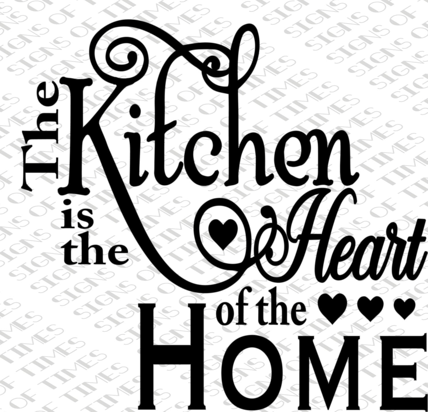 Kitchen Heart Of The Home Custom Svg Kitchen Is The Heart Of The Home Kitchen Svg Png Dfx Design Ideas