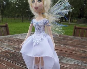 OOAK White Fairy