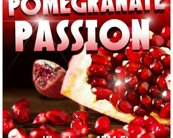 Pomegranate Passion Candle & Bath/Body Fragrance Oil