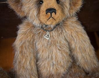 "Adelaide, 17"" OOAK Faux Fur Artist Bear by Patricia Bruce Bears"