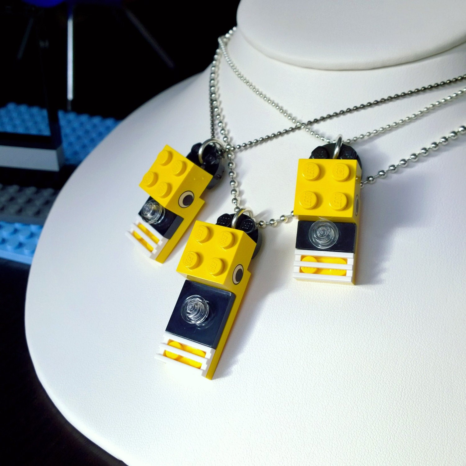 buzzy lego necklace