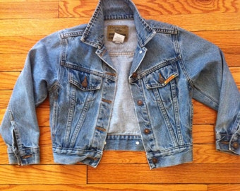 Extra Small 80s Jordache Jean Jacket // Cropped