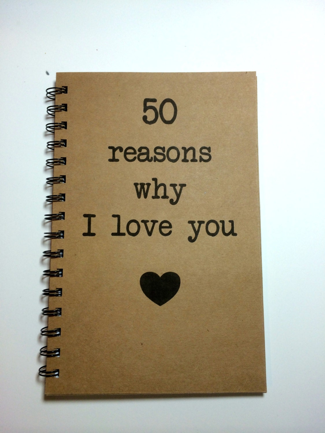 Reasons Why Makeup Is Important: Reasons Why I Love You Notebook Love Notes Journal