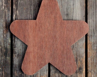 Large Rounded Star (22 cm x 22 cm)
