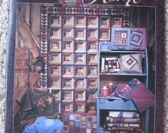 Hearth and Home - Fiber Mosaics - Leslie Beck - NEW