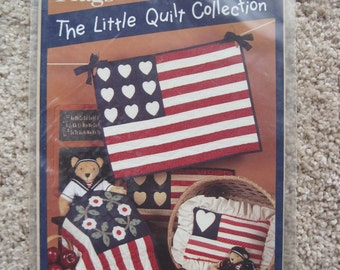 The Little Quilt Collection - Flags - Little Quilt Primer - NEW