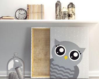 Nursery art - Cute owl - Nursery Printable - Nursery wall art - Gender neutral nursery art - Nursery decor - Digital download