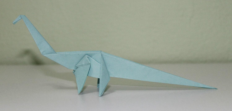 Diplodocus Hallorum Dinosaur Origami - photo#45