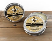 Tattoo Balm - FRESH INK  - Ink Balm - Fresh Ink Aftercare For Tattoos - All Natural Herbal All Natural Healing Salve Ointment -