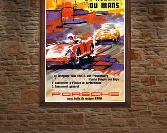 Porsche 550 Spyder Le Mans