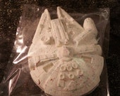 Geek'd Candyland - Millennium Falcon Solid White Chocolate