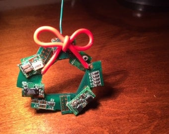Circuit Board Ornament