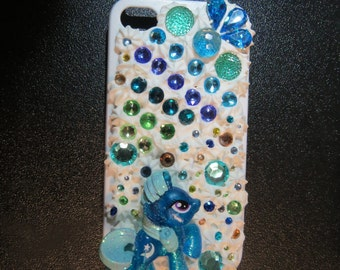 Galaxy's Comet iPhone 4 / 4s Kawaii Decoden My Little Pony Cell Phone Case