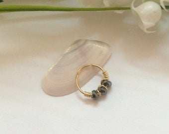Gold Cartilage Earring - Gold Cartilage Ring - Cartilage Hoop - Tiny Cartilage Ring - Cartilage Earring - Cartilage Piercing - Cartilage