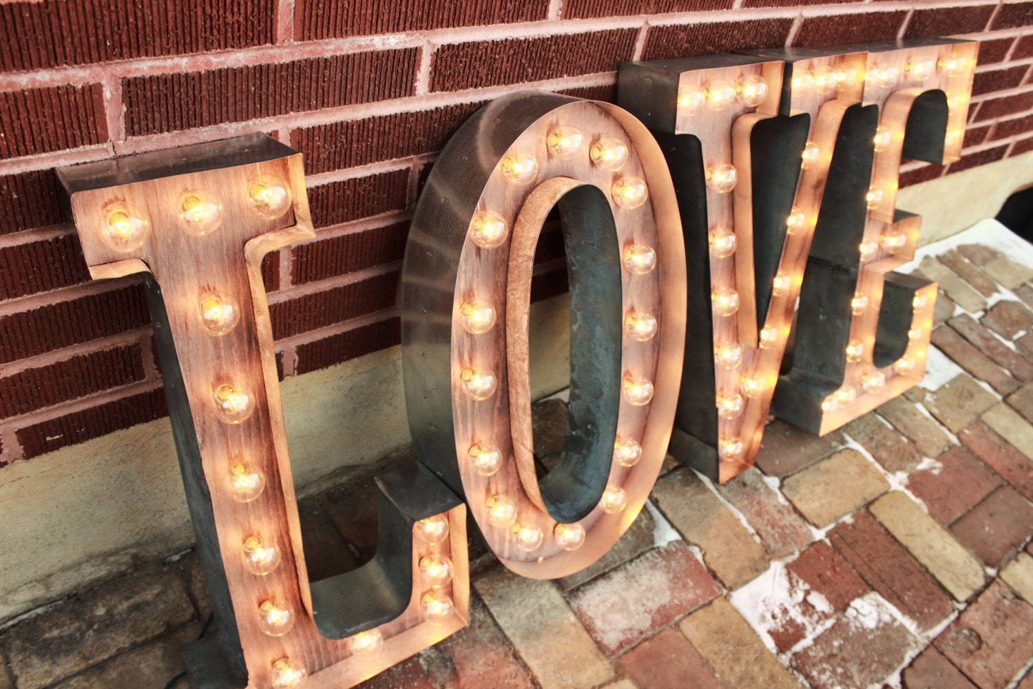 marquee sign letters 4 custom wedding letters marquee signs rustic industrial 17343