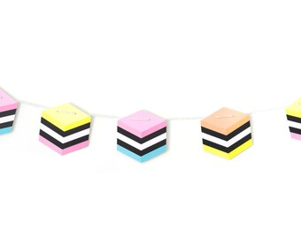 Licorice Allsorts Garland