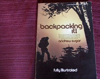 Classic Vintage Back Packing Book