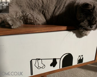 Ricky Mouse's House - Wall Sticker