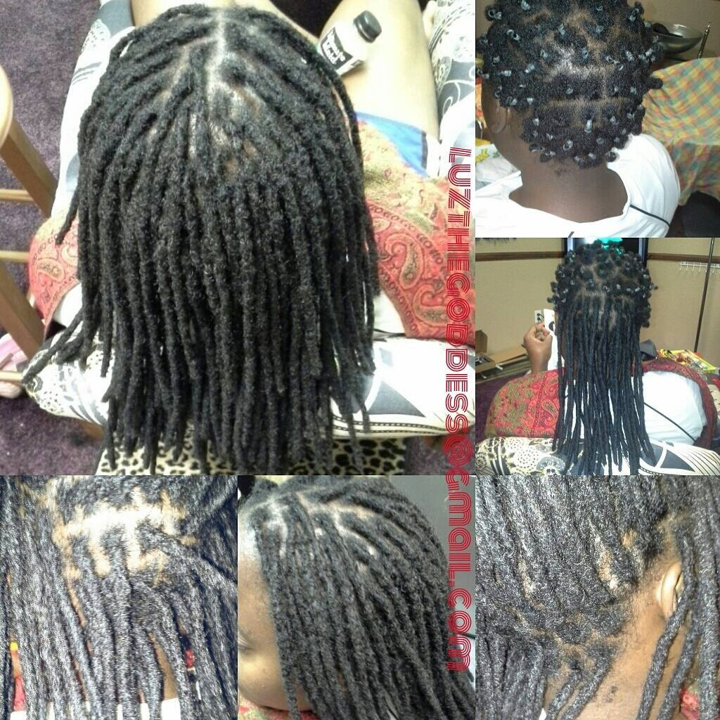 Real Hair Dread Extensions Remy Indian Hair