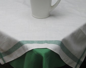 Pair of Vintage Linen Tablecloths