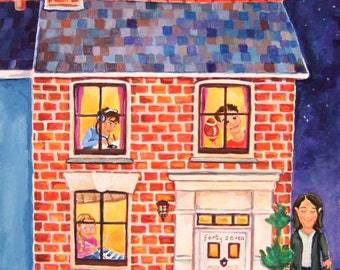 Personalised House Paintings