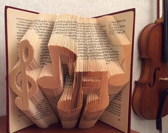"Book folding pattern "" Notes"""