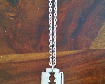 Razorblade Necklace