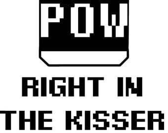 Mario - POW! Right in the Kisser!