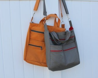 The Logan Bag PDF pattern, crossbody bag sewing pattern, handbag pattern sewing tutorial, purse sewing pattern, diaper bag pattern
