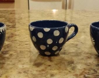 Mini Blue Espresso Set
