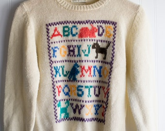 A Letter Sweater