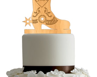 country wedding cake topper, cowboy cake topper, western cake topper , boot cake topper , funny cake topper, unique cake topper