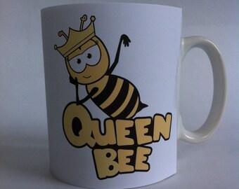 Queen bee mug gift/wife/girlfriend/funny/present 079