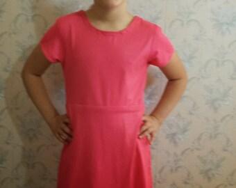 Standard Waist 2 piece Swim Dress (Child Size) PATTERN with FREE Video Tutorial