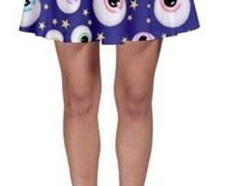 Eye Spy Skater skirt