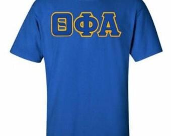 Theta Phi Alpha Lettered T-shirts
