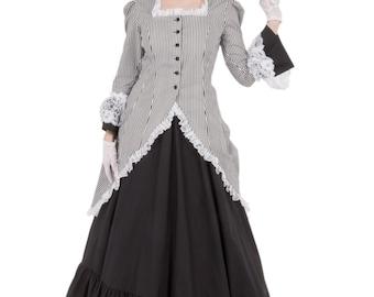 Madison Victorian Polonaise Dress
