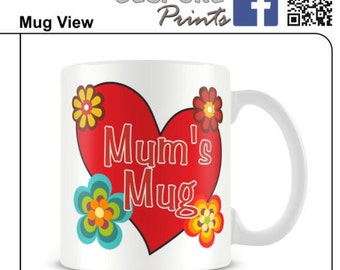 Mum mug mothers day mug mums mothers