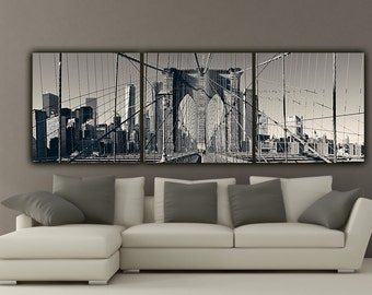 modern black white. modren black new york brooklyn bridge canvas wall art black and white photo  to modern