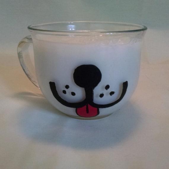 items similar to dog face mug puppy mug coffee mug