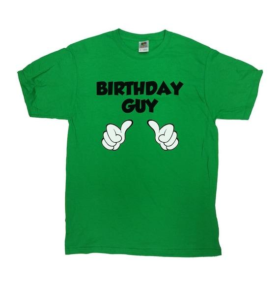 Birthday Guy T-Shirt Gift For Him Funny Shirt Birthday Gift