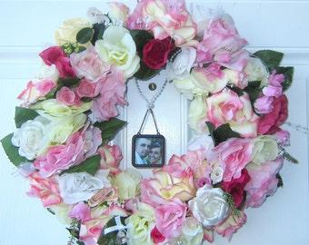 Wedding Bridal Bouquet Wreath Marriage Heirloom Keepsake Memories Token Love Commitment  Handmade One-Of-A-Kind